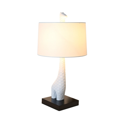 Giraffe Table Lamp By Designer Lighting In White