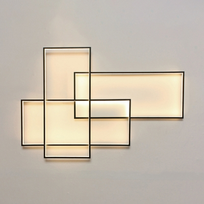High Bright 60W/80W 3000K-6000K Rectangular Led Wall Light 14.40