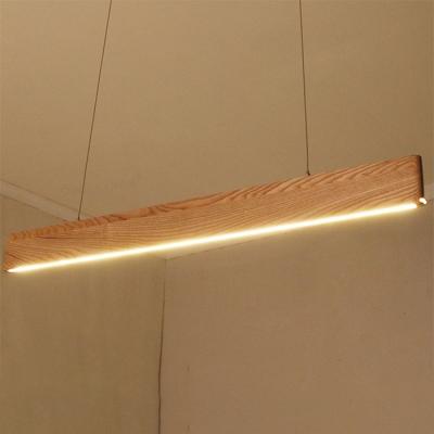 Modern Art Decor Design Wood Ultra-thin Led Linear Strip 23.62