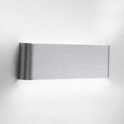 Silver Brushed Aluminum Led Linear Wall Light Modern Home Decorative Led Indirect Lighting for Living Room Besides Reading Room 4 Sizes Available