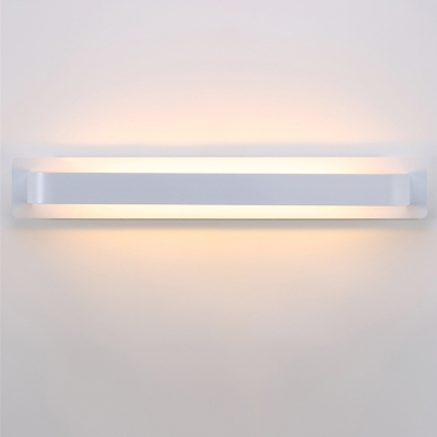 High Bright Modern Led Wall Light Satin Aluminum Linear Wall Light 9W Energy Saving Home Deco Wall Mounted Lights for Bedroom Bathroom Living Room