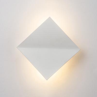 Creative Designers Lighting Warm White Light Led Square Wall Lights 6W Aluminum 7.87