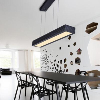 Modern Lighting Acrylic Lampshade Led Pendant Light Fixtures Aluminum