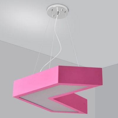 Creative Colorful Modern Design Adjustable Led Arrow Shaped LED Pendant Light 17.7