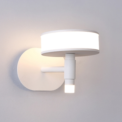 White Mushroom Led Wall Light 9.05