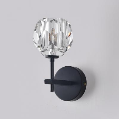 Flower Shaped LED Wall Light Post Modern W4.72