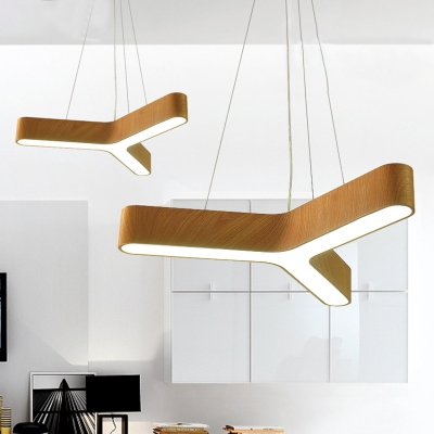 New Creative Low Profile Modern Lighting 23 62 31 50 Wide Y Shaped