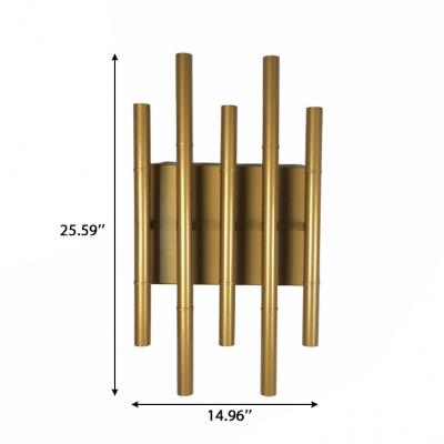 Antiqued Gold Post Modern 14.96