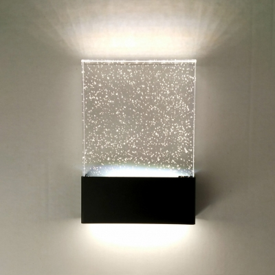 Modern Bubble Glass Led Wall Lighting 6 70 Quot X9 44 Quot 5w Frame