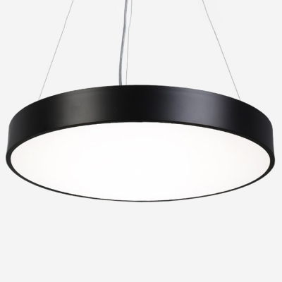 Modern Commercial Led Lighting Metal Acrylic Round Chandelier In