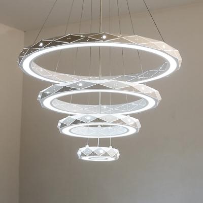 Best Modern Chandeliers For Kids Room Tiered 9 30 63 110w White Metal
