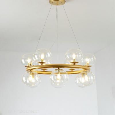 Modern Gold Chandelier 23.62