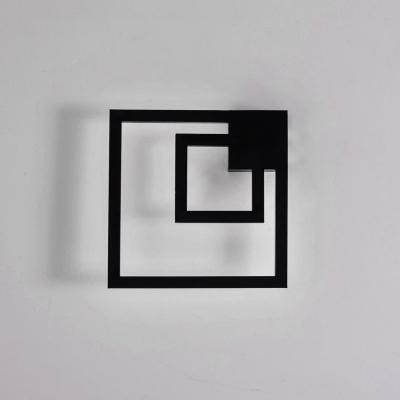 Black Modern Wall Sconce