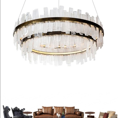 Accent Lights Wrought Iron Layered Chandeliers 19.69
