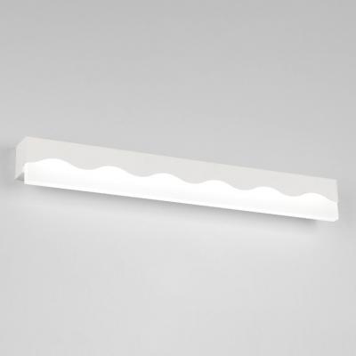 8W-24W 3000/6000K LED Downlight Modern Acrylic Vanity Light Black/White Bath Mirror Cabinet Linear Vanity Lighting (15.75