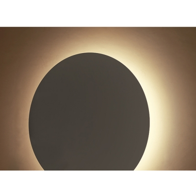 Post Modern Eclipse Wall Lighting Home Decorative Metal Round 5 Lights Wall Sconce Led Ambient Light for Bedroom Living Room Gallery