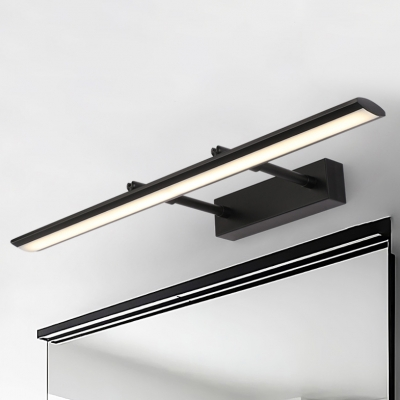 Bathroom Wall Lights 9w 16w Led Neutral Acrylic Shade Linear Vanity Lights Black Finish Gallery Living Room Picture Lights 15 35 19 29 23 23 27 17 Long Beautifulhalo Com