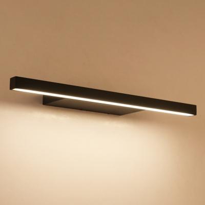 Die Cast LED Downlight Modern Bathroom Vanity Lighting 9W-16W 3000K/6000K Acrylic Shade LED Vanity Lights in Black/White