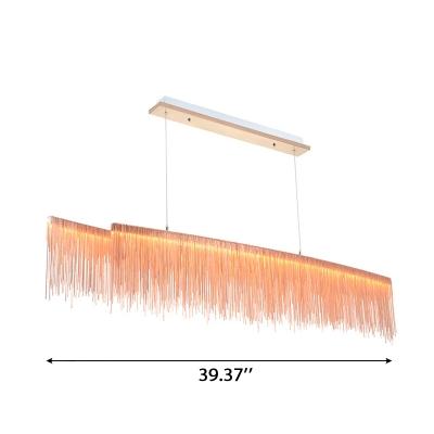 Third Gear Luxury LED Stream Pendant Light 39.37