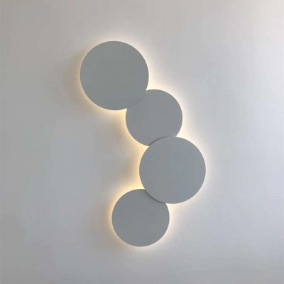 Post Modern Slim Round Led Wall Sconce 8