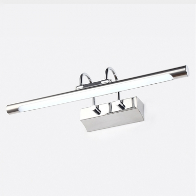 Stainless Steel Arch Arm LED Picture Light 7W-16W 3000/6000K Polished Chrome Vanity Light for Bathroom Cabinet Gallery (16.54