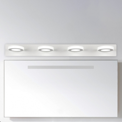 Contemporary Wall Lighting 3 6 9 12w Ambient 1 2 3 4 Light Blocks Led Vanity Light White Acrylic