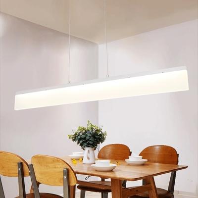 Modern Ceiling Light Fixture White Actylic LED Pendant Light