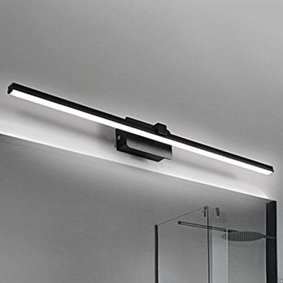Bedside Bathroom Mirror Wall Lights 8w 16w Black White