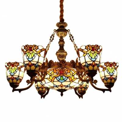 Fashion Style Period Chandeliers Tiffany Lights