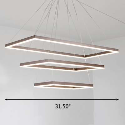 Adjustable Hanging Light 15.75