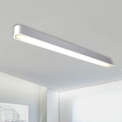 Contemporary Round Corners And Linear Frame Led Linear