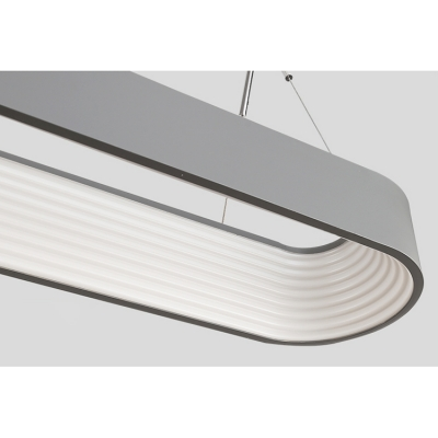 High Bright Oval Led Hanging Pendant 33.47