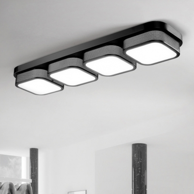 Light Square Led Ceiling Flush