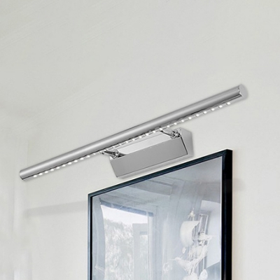 Extendable Bath Vanity Light 3w 15w 3000 6000k High Bright Chrome Led Cylinder Vanity Light