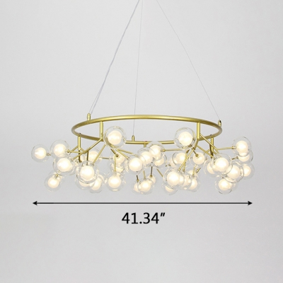 Charm Unique Mirror Ball Pendant Lights 31.50