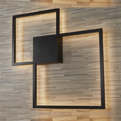 Applique murale lumineuse Post-modern-minimalist-black-square-led-wall-sconce-metal-25w-28w-indoor-decoration-2-light-framed-led-ambient-wall-light-with-warm-white-light_1539311431372