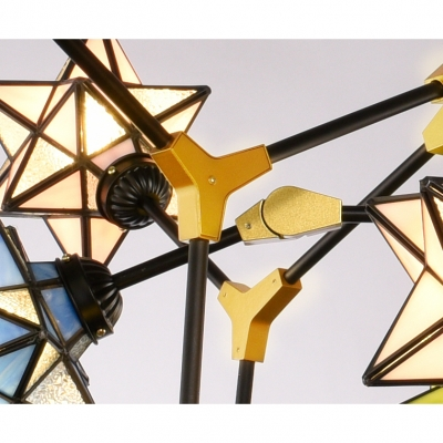 Special Designed Multi-Color Star Chandelier in Casual Style 2 Designs for Option