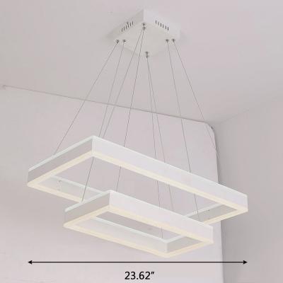 Contemporary 2 Light/3 Light LED Hanging Light 15.75
