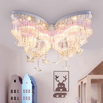 Reviews For Butterfly Led Chandelier Girls Bedroom Hanging