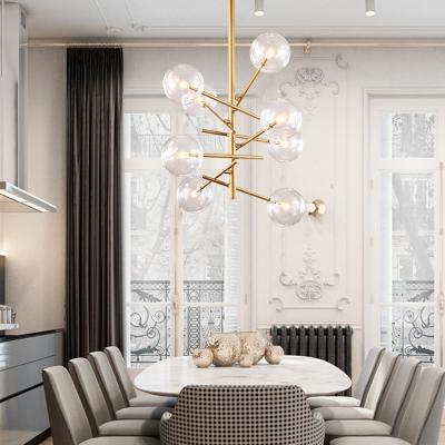 Modern Chandelier for Living Room LED 6/8 Light Modo Chandelier in