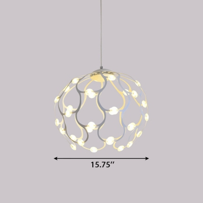 Indoor Decorative Lights Post Modern LED Blossom Chandelier 10