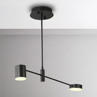 Best Lighting for Living Room 2/4/6/8 Light Metal LED Radar Chandelier
