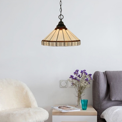 Geometric Chain Hung Pendant Light