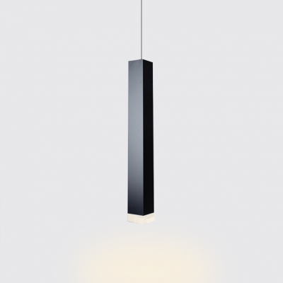 Rectangular LED Spotlight Contemporary Lighting Metal 1-LED Track Lights for Reception Office Cafe