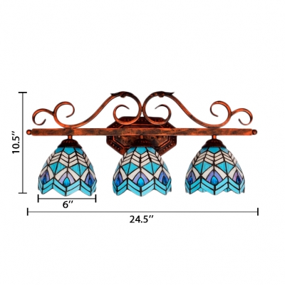 Baroque Stained Glass Tiffany Style 25