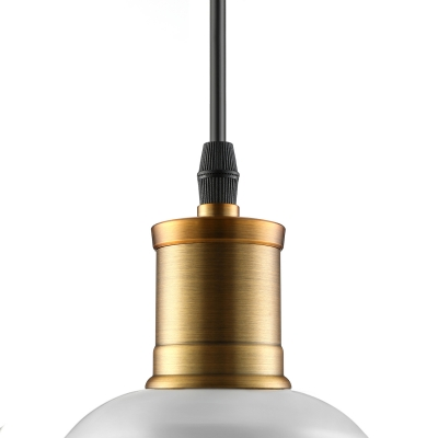 Modern Retro Pendant Lamp with An Industrial Design