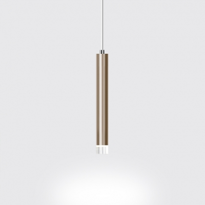 Brushed Gold Pendant Light Post