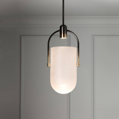 Hanging Pendant Light In Gold Finish