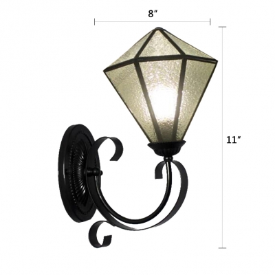 Lantern Design with Clear Glass Shade 8