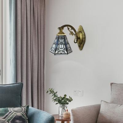 Lodge Style Single Light Mini Wall Sconce